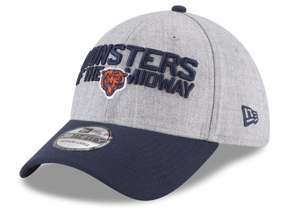 ad95c4bab Chicago Bears New Era 2018 NFL Draft 39THIRTY Cap