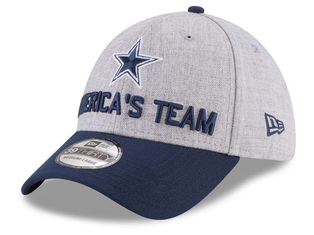 a768242bd4c Dallas Cowboys New Era 2018 NFL Draft 39THIRTY Cap