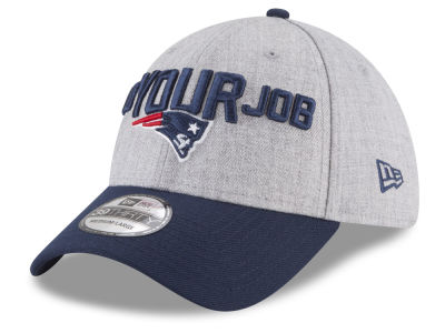 New England Patriots New Era 2018 NFL Draft 39THIRTY Cap