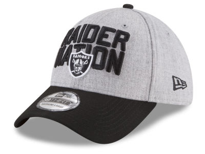 Oakland Raiders New Era 2018 NFL Draft 39THIRTY Cap