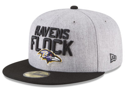 Baltimore Ravens New Era 2018 NFL Kids Draft 59FIFTY Cap