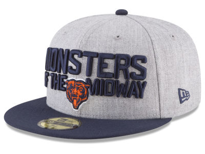 Chicago Bears New Era 2018 NFL Kids Draft 59FIFTY Cap