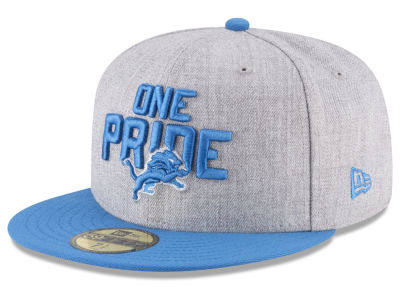 Detroit Lions New Era 2018 NFL Kids Draft 59FIFTY Cap