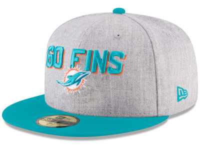 Miami Dolphins New Era 2018 NFL Kids Draft 59FIFTY Cap