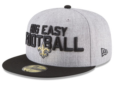 New Orleans Saints New Era 2018 NFL Kids Draft 59FIFTY Cap