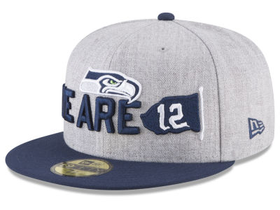 Seattle Seahawks New Era 2018 NFL Kids Draft 59FIFTY Cap