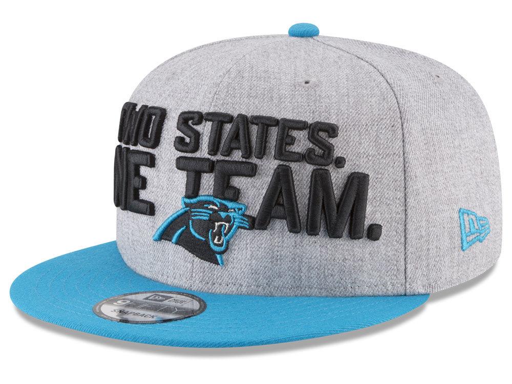 916e0bae43e Carolina Panthers New Era 2018 NFL Kids Draft 9FIFTY Snapback Cap ...