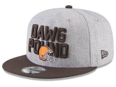 Cleveland Browns New Era 2018 NFL Kids Draft 9FIFTY Snapback Cap
