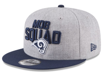 Los Angeles Rams New Era 2018 NFL Kids Draft 9FIFTY Snapback Cap