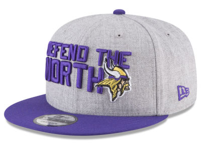 Minnesota Vikings New Era 2018 NFL Kids Draft 9FIFTY Snapback Cap