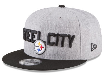 Pittsburgh Steelers New Era 2018 NFL Kids Draft 9FIFTY Snapback Cap