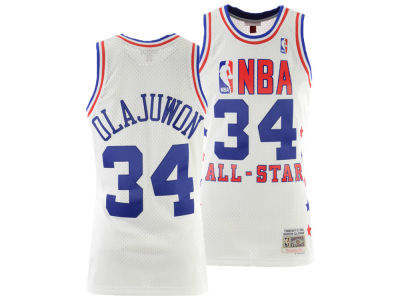 NBA All Star HAKEEM OLAJUWON Mitchell & Ness 1989 NBA Men's Swingman Jersey