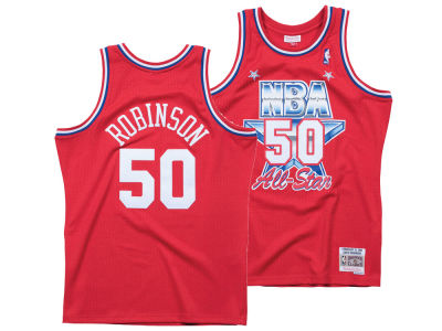 NBA All Star DAVID ROBINSON Mitchell & Ness 1991 NBA Men's Swingman Jersey