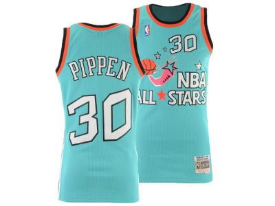 b2db8d653 NBA All Star SCOTTIE PIPPEN Mitchell   Ness 1996 NBA Men s Swingman Jersey