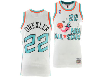 NBA All Star CLYDE DREXLER Mitchell & Ness 1996 NBA Men's Swingman Jersey
