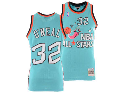 NBA All Star Shaquille O'Neal Mitchell & Ness 1996 NBA Men's Swingman Jersey