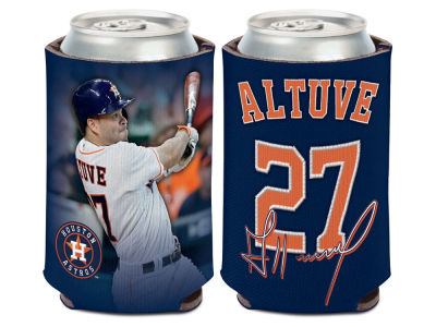 Houston Astros Jose Altuve Can Coozie