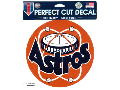 Houston Astros Die Cut Color Decal 8in X 8in