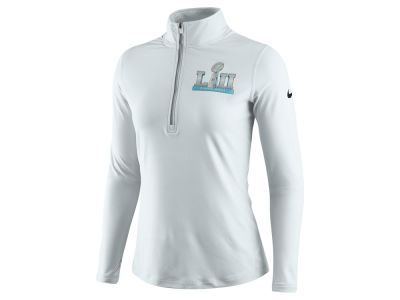 Super Bowl LII Nike NFL Women's Super Bowl LII Quarter Zip Element Pullover