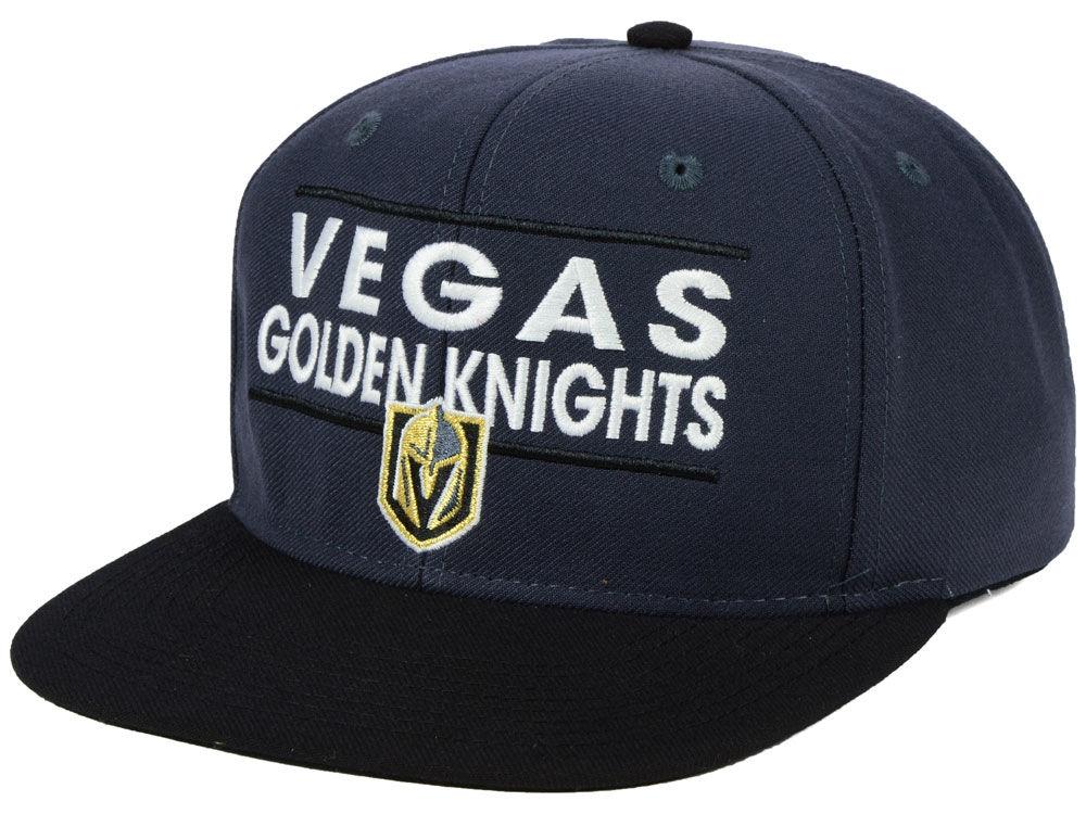 Vegas Golden Knights adidas NHL Bar Snapback Cap  ec654d44d32e