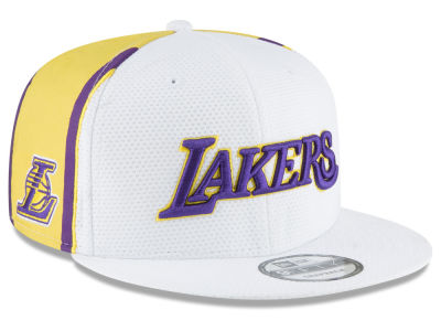 Los Angeles Lakers New Era NBA Jersey Hook 9FIFTY Snapback Cap