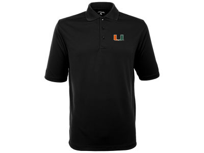 Miami Hurricanes Antigua NCAA Exceed Polo