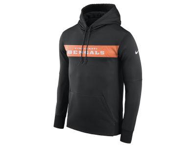 1087902a9 Cincinnati Bengals Nike NFL Men s Seismic Therma Hoodie