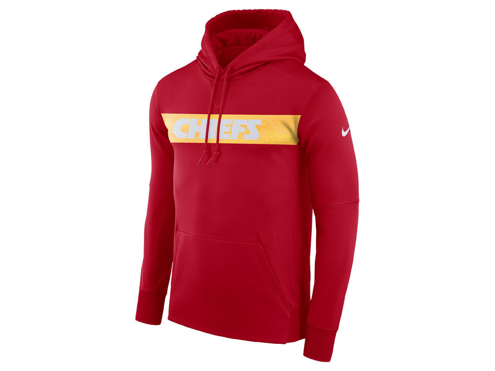 71b8de61d Kansas City Chiefs Nike NFL Men s Seismic Therma Hoodie