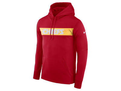 Kansas City Chiefs Nike NFL Men's Seismic Therma Hoodie