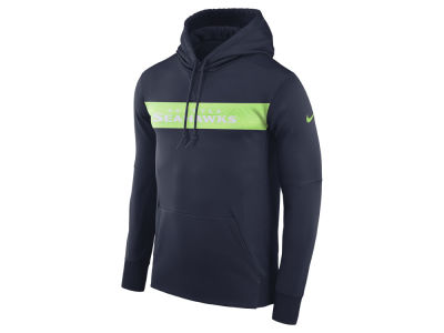 Seattle Seahawks Nike NFL Men's Seismic Therma Hoodie