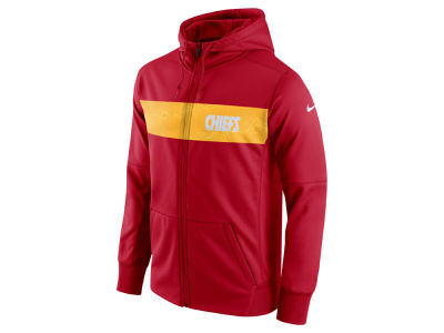 Kansas City Chiefs Nike NFL Men's Seismic Therma Full Zip Hoodie