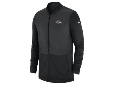 Baltimore Ravens Nike 2018 NFL Men's Elite Hybrid Jacket