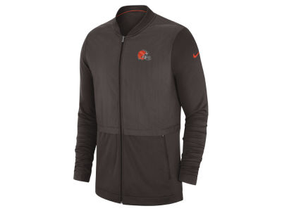 Cleveland Browns Nike 2018 NFL Men's Elite Hybrid Jacket