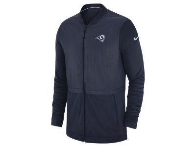 Los Angeles Rams Nike 2018 NFL Men s Elite Hybrid Jacket 0dc09fe1c