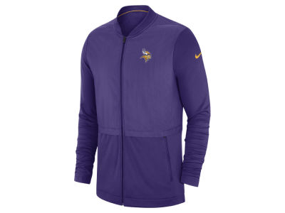 Minnesota Vikings Nike 2018 NFL Men's Elite Hybrid Jacket