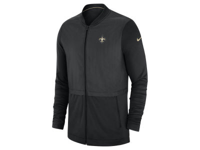 New Orleans Saints Nike 2018 NFL Men's Elite Hybrid Jacket