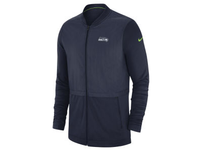 Seattle Seahawks Nike 2018 NFL Men's Elite Hybrid Jacket