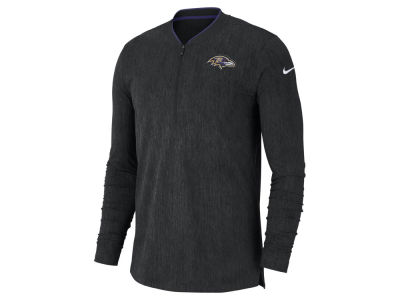 Baltimore Ravens Nike NFL Men's Coaches Quarter Zip Pullover