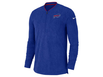 Buffalo Bills Nike NFL Men's Coaches Quarter Zip Pullover