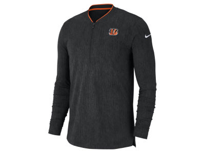 Cincinnati Bengals Nike NFL Men s Coaches Quarter Zip Pullover 4e99786fb