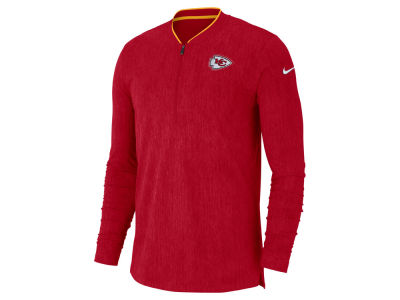 Kansas City Chiefs Nike NFL Men's Coaches Quarter Zip Pullover