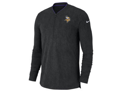 Minnesota Vikings Nike NFL Men's Coaches Quarter Zip Pullover