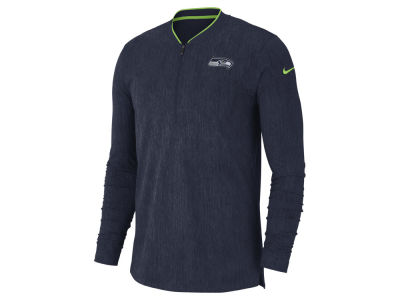 Seattle Seahawks Nike NFL Men's Coaches Quarter Zip Pullover