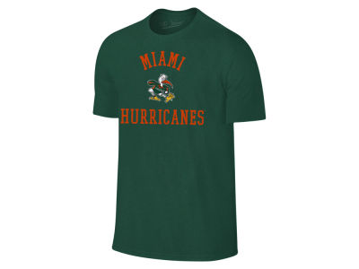 Miami Hurricanes NCAA Men's Arch Logo Dual Blend T-Shirt