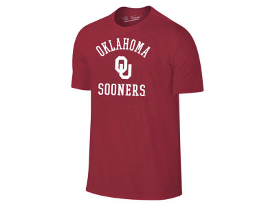 Oklahoma Sooners The Victory NCAA Men's Arch Logo Dual Blend T-Shirt