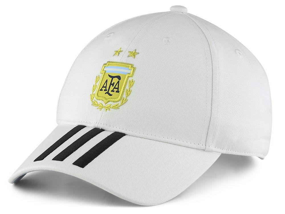 4521374d1a2 Argentina adidas 2018 World Cup 3 Stripes Adjustable Cap