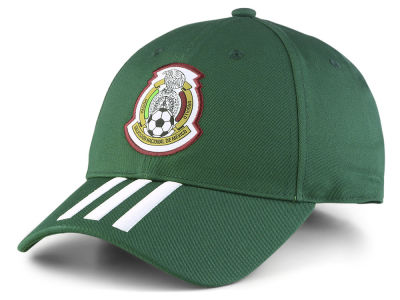Mexico adidas 2018 World Cup 3 Stripes Adjustable Cap