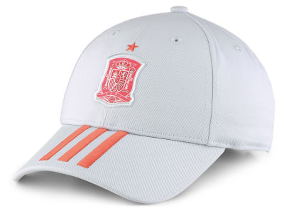 Spain adidas 2018 World Cup 3 Stripes Adjustable Cap