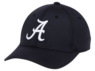 Alabama Crimson Tide Top of the World NCAA Phenom Flex Black White Cap