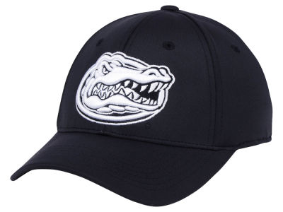 Florida Gators Top of the World NCAA Phenom Flex Black White Cap